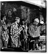 Sun Ra Arkestra At The Red Garter 1970 Nyc 4 Acrylic Print