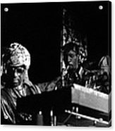 Sun Ra Arkestra At The Red Garter 1970 Nyc 7 Acrylic Print