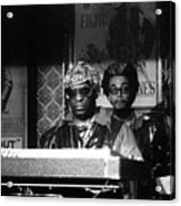 Sun Ra Arkestra At The Red Garter 1970 Nyc 8 Acrylic Print