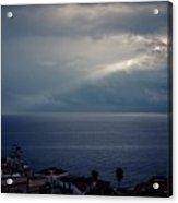 Sun Ray On The Med Acrylic Print