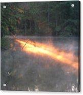 Sun Rise Across The Lake Acrylic Print
