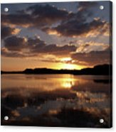 Sun Rise At West Lake In The Everglades Acrylic Print