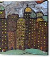 Sun Rising On Olde Towne Acrylic Print