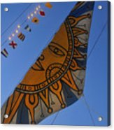 Sun Sailing Acrylic Print