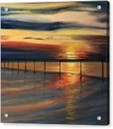 Sun Set At Seabridge Acrylic Print