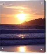 Sun set in Carmel Acrylic Print