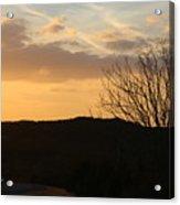 Sun Set Texas Acrylic Print