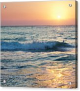 Sun Sets Over Seven Mile Beach Acrylic Print