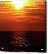 Sun Setting Acrylic Print