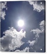 Sun Shine Acrylic Print