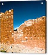 Sun Soaked Ruins Acrylic Print