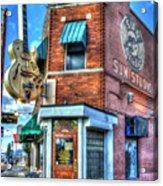Sun Studio Memphis Tennessee Art Acrylic Print
