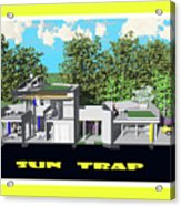 Sun Trap Section Acrylic Print
