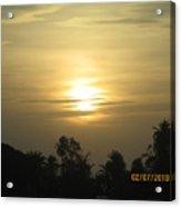 Sun View Acrylic Print