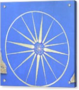 Sun Wheel Acrylic Print
