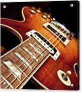 Sunburst Electric Guitar Acrylic Print