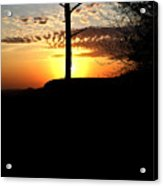 Sunburst Sunset Acrylic Print