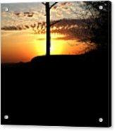 Sunburst Sunset Acrylic Print