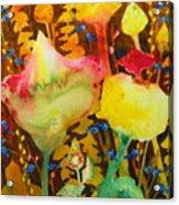 Sundae Flower Cone Acrylic Print