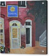 Sundail Books, Chincoteague Island, Va Acrylic Print