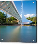 Sundial Bridge 1 Acrylic Print