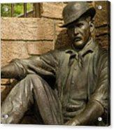 Sundance Kid Statue 6 Acrylic Print