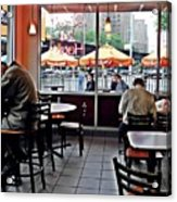 Sunday Afternoon At Dunkin Donuts Acrylic Print