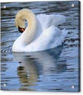 Sunday At The Lake Acrylic Print