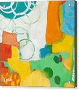 Sunday Day Bubbles Acrylic Print