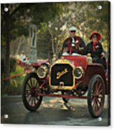 Sunday Drive In A 1910 Buick Acrylic Print