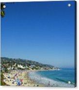Sunday On Laguna Beach Acrylic Print