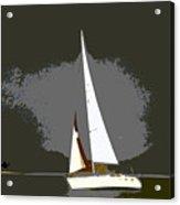 Sunday Sailing Acrylic Print