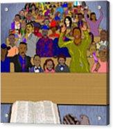 Sunday Sermon Acrylic Print