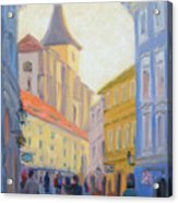 Sunday Stroll - Prague Acrylic Print