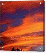 Sunday Sunrise Acrylic Print