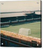 Sunderland - Roker Park - Clock Stand 1 - Leitch - 1970s Acrylic Print