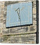Sundial On St Mary's Church - Tutbury Acrylic Print