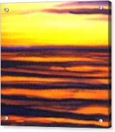 Sundown In The Marshlands Acrylic Print