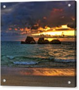 Sundown Acrylic Print by Ryan Wyckoff