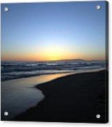 Sunet Beach Acrylic Print