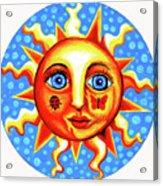 Sunface With Ladybug Acrylic Print