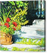 Sunfilled Steps 01 Acrylic Print
