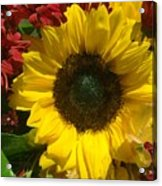 Sunflower Boquet Acrylic Print
