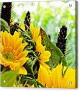 Sunflower Bouquet 2 Acrylic Print