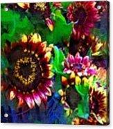 Sunflower Carnival Acrylic Print