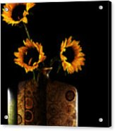 Sunflower Galore Acrylic Print