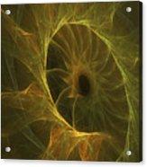 Sunflower Nebula Acrylic Print