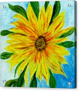 Sunflower Sunshine Of Your Love Acrylic Print