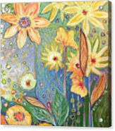Sunflower Tropics Part 3 Acrylic Print