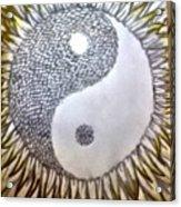 Sunflower Zen Acrylic Print